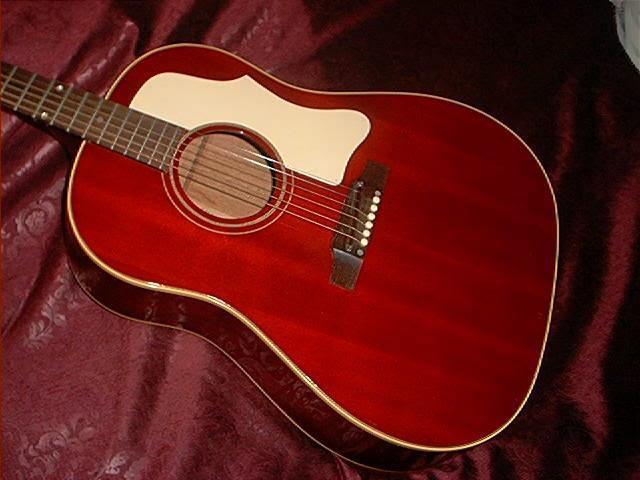 1968 Gibson J 45 Red