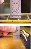 String Height at 12th fret and Bridge side view